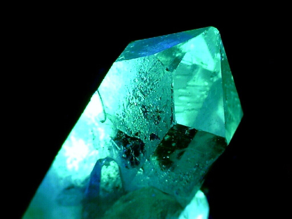 Green Fantasy Crystal Turquoise