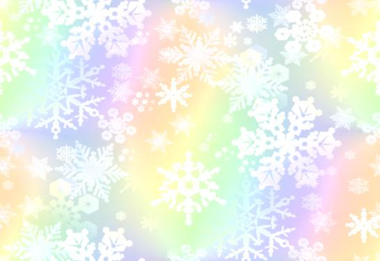 Snowflakes Paper Background Fills - Snowflakes To Write On